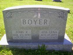 Ada Lena <i>Kinzer</i> Boyer