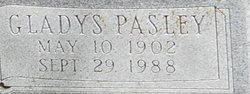 Gladys <i>Pasley</i> Barrick