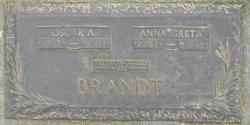 Anna Greta <i>Olsen</i> Brandt