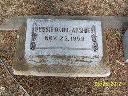 Bessie Odiel Abshier