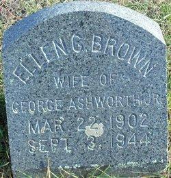 Ellen G <i>Brown</i> Ashworth