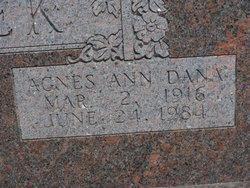 Agnes Ann <i>Dana</i> Bartek