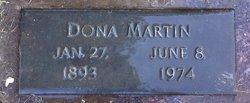 Dona P <i>Wymore</i> Martin