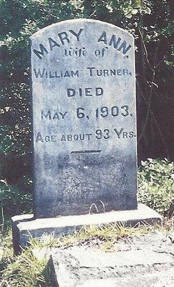 Mary Ann <i>Dunn</i> Turner