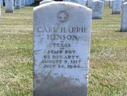 Carl Harrie Henson