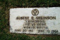 PFC Albert Edwin Atkinson