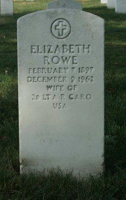 Elizabeth <i>Rowe</i> Caro