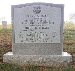 Col Glenn O Hall, Sr