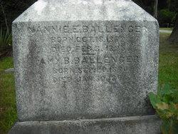 Nannie E. Ballenger
