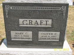 Mary Catherine <i>Gilmore</i> Craft