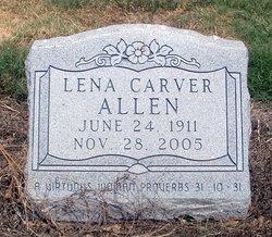 Lena <i>Carver</i> Allen