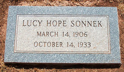 Lucy Hope <i>Price</i> Sonnek