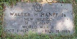 Walter H Hanff, Jr
