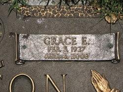 Grace E <i>Hagens</i> Holton