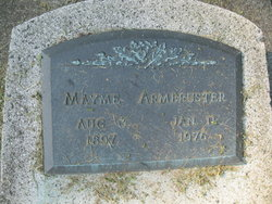 Mayme <i>Hill</i> Armbruster