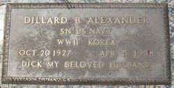Dillard Blair Dick Alexander
