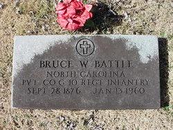 Pvt Bruce Walker Battle, Sr