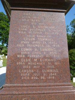 Lucy E <i>Holbrook</i> Cummins