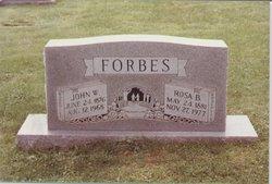 Rosa <i>Burleson</i> Forbes