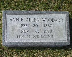 Annie Mae <i>Allen</i> Woodard
