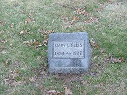 Mary L <i>Hanks</i> Ellis