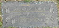 Julia T Church