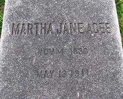 Martha Jane <i>Kirven</i> Acee