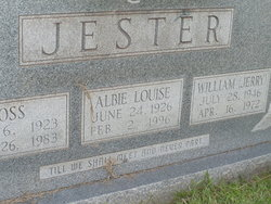 Albie Louise <i>Beck</i> Jester