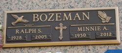 Minnie A <i>Ogle</i> Bozeman