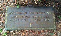 Aletha Mae <i>Brisbin</i> Bennington