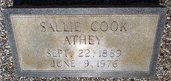 Sallie Elma <i>Cook</i> Athey