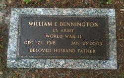 William Edward Bennington