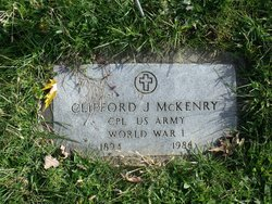 Clifford Joseph Pap McKenry