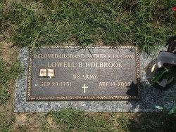 Lowell B Holbrook