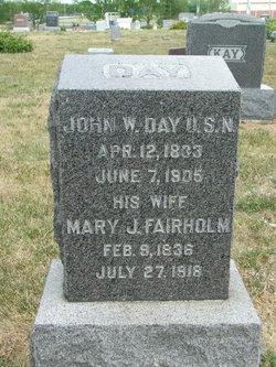 Mary J. F. <i>Fairholm</i> Day