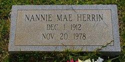 Nannie Mae Herrin