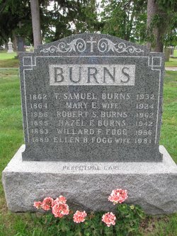 Mary Ellen <i>Dexter</i> Burns