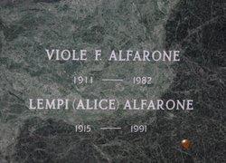 Viole F. Alfarone