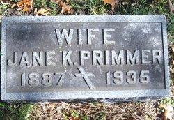 Jane K. Primmer