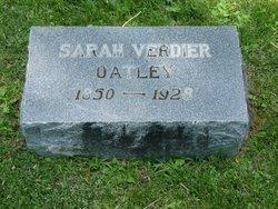 Sarah <i>Verdier</i> Oatley