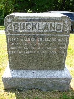 Claude E Buckland