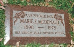 Marie Zelda <i>Child</i> McDonald