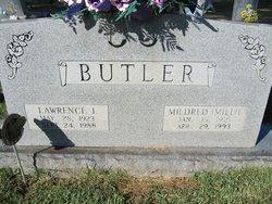 Mildred Elizabeth Millie <i>Hill</i> Butler