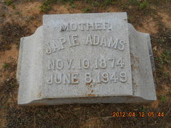 Mary Jacob Japie <i>Wolfe</i> Adams