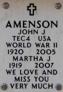 Martha Jane <i>Kovacs</i> Amenson