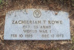 Zachariah Taylor Rowe
