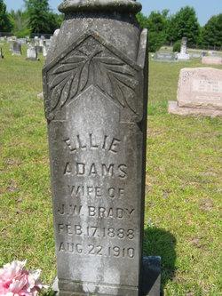 Ellie L. <i>Adams</i> Brady