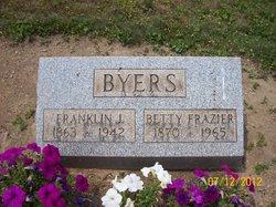 Betty <i>Frazier</i> Byers