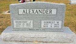 Dorothy J. <i>Blazer</i> Alexander