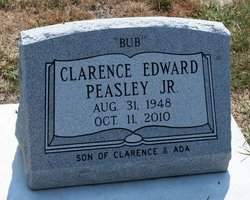 Clarence Edward Bub Peasley, Jr